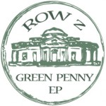 Cover artwork for the 'Green Penny' EP by band Row Z.