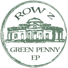 Green Penny EP cover by Row Z. Out soon on Ghostnote.